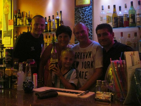 Kellys Ice House : the family and spiros
