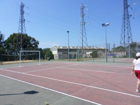 Camping Club Le Trianon : le terrain de foot