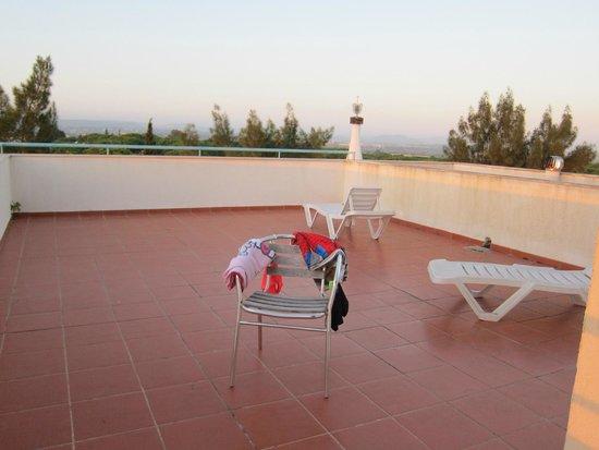 Alpinus Hotel: immense terrasse