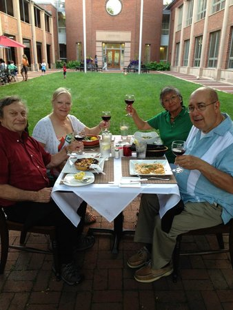 La Lou Bistro: Enjoying Meal Outdoors - Special Seating Just for Us!
