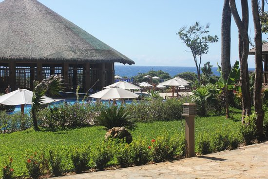 Media Luna Resort & Spa : Jardines