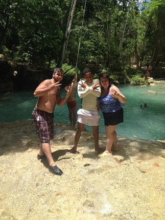 Cliff Jumping At The Blue Hole In Ocho Rios Picture Of Liberty - Liberty tours jamaica