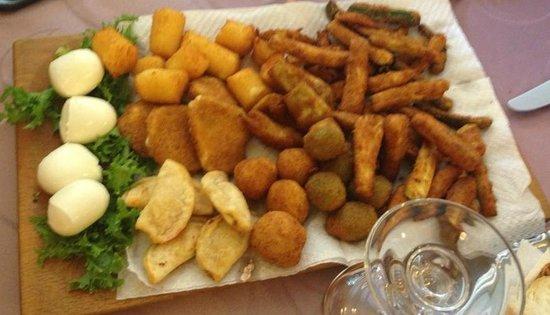 Ristorante Il Picchio: frittiiiiiii