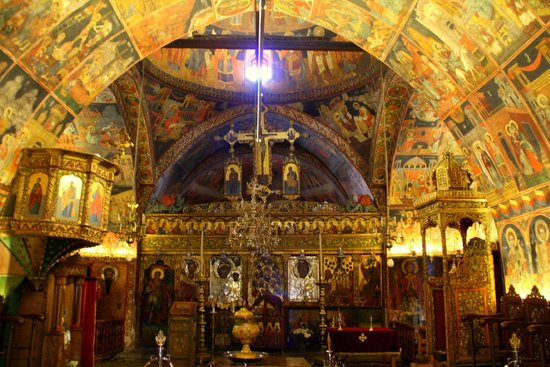 The Church of the Panagia : L'interno