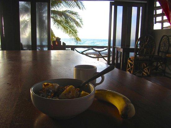 Amansala Eco Chic Resort: Breakfast view