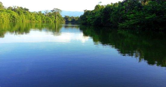 Hotel Mansion del Rio: Vista del Río Chocón en Tour a Livingston