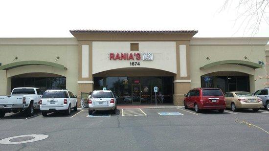 Rania's Kabob Grill: Great food.