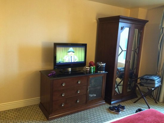 The Hotel Roanoke & Conference Center, Curio Collection by Hilton: Small TV