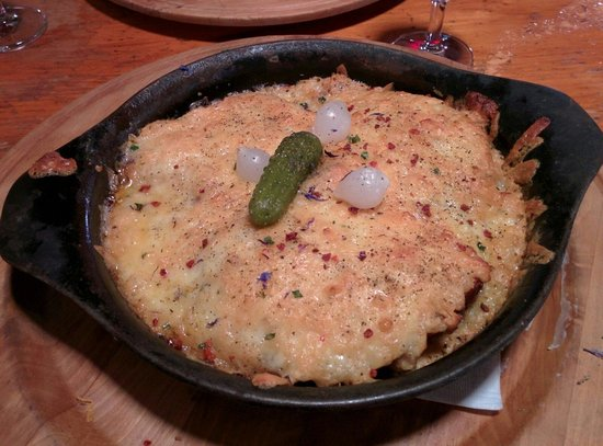 La Cabriolle : Croûte au fromage