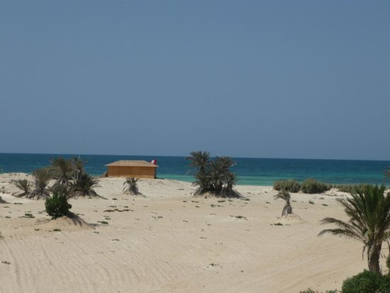 Seabel Rym Beach: vu de notre chambre