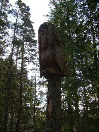 Mount Floyen and the Funicular (Floibanen): Trolls lungo il percorso
