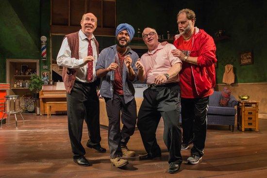 Wellfleet Harbor Actors Theater: The cast of WHAT's The Fabulous Lipitones
