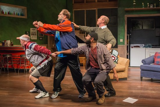 Wellfleet Harbor Actors Theater : Wally Dunn, Ron Orbach, Rohan Kymal and D.C. Anderson in The Fabulous Lipitones
