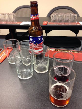 Budweiser Brewery Tours: Beer school