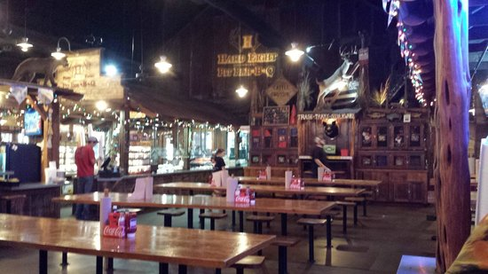 Hard Eight BBQ decor - in 15 minutes the place was full