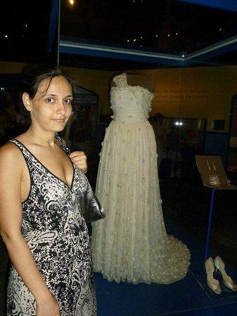 National Museum of American History: Платье Мишель Обамы