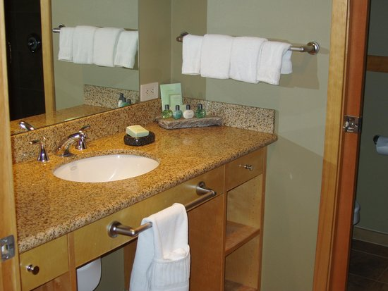 Friday Harbor House: Outer bathroom.