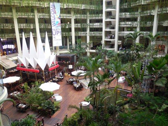 Paradisus Cancun: le lobby