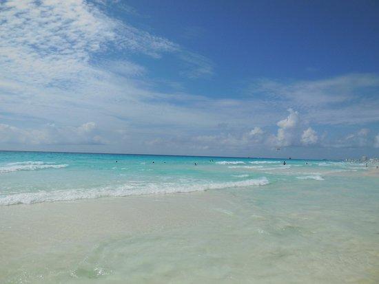 Paradisus Cancun: la raison de mon voyage, la mer ....