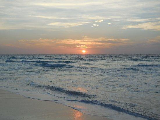 Paradisus Cancun: pour les lèves tot, le lever du soleil !
