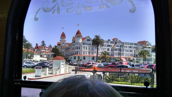 Omni San Diego Hotel : Hotel Del Coronado see during our trolley tour from Old Town