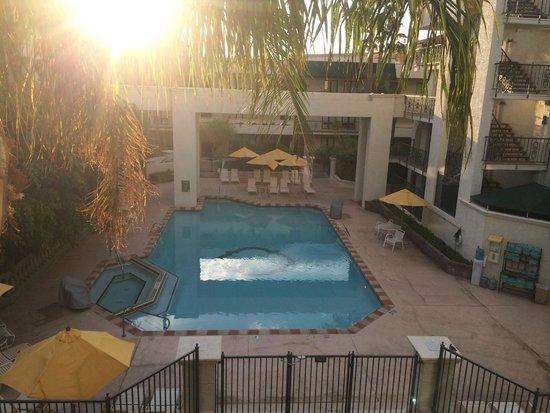 Arizona Grand Resort & Spa: view from our room (sedona)