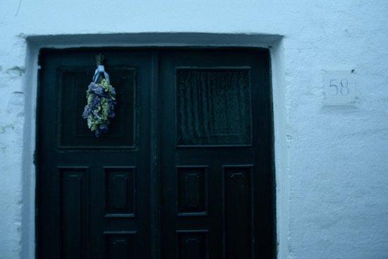 Lindos: Particolare di una casa