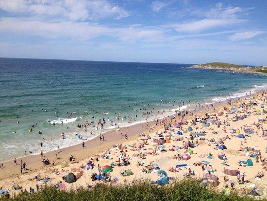 The Esplanade Hotel: Sunny beach day Summer 2014