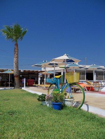 Mammis Beach Studios : particolare area esterna
