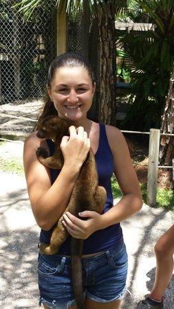 McCarthy's Wildlife Sanctuary: Jess and a chinkachu