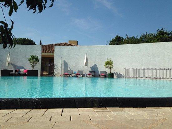 Le Mas Candille : The main pool
