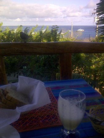 Galapagos Casa Playa Mann : Desayuño riquísimo