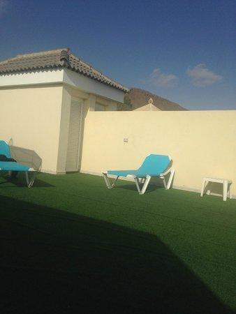 Gran Oasis Resort : roof terrace