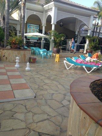 Gran Oasis Resort: reception area
