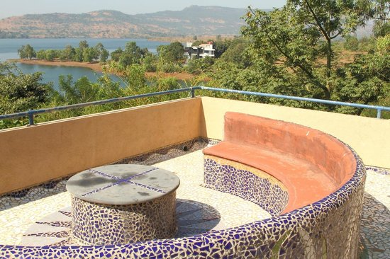 Native Place: View of Lake Vadivali from the Rooftop