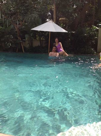Pandawa All Suite Hotel: kolam renang Pandawa Umalas agustus 2014
