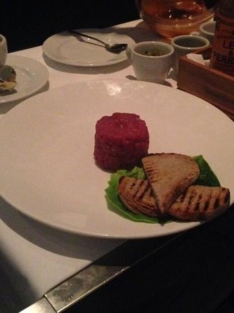 Bluebird Chelsea: steak tartare