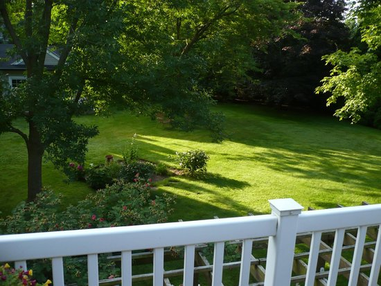 Abacot Hall Bed & Breakfast: Grounds in back yard.