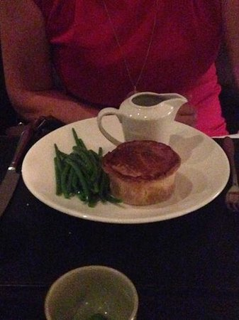 Bluebird Chelsea: chicken pie £14 pastry slightly over done