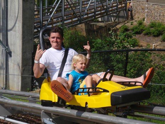 Mountain Creek Water Park : The sky coaster