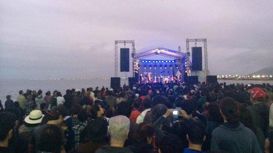 Tartaruga Beach: Palco