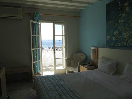 Porto Mykonos Hotel: room view