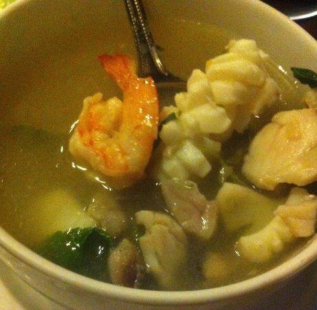 Bhu Nga Thani Resort and Spa: La cuisine est raffinée sans être trop épicée