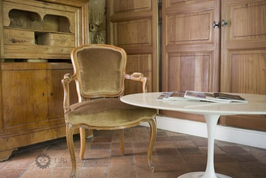 Chateau de la Pioline : Superior room