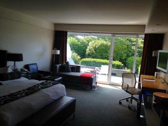 Inn at Laurel Point : View of my Garden Suite
