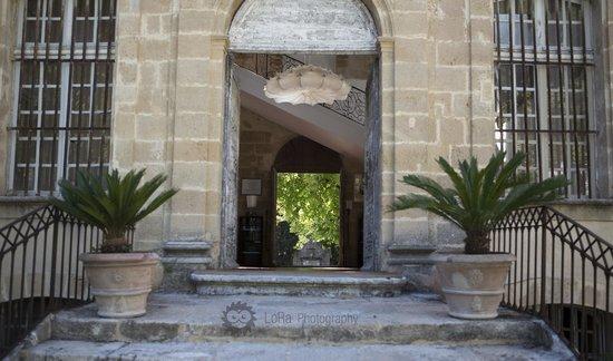 Chateau de la Pioline : The main entrance