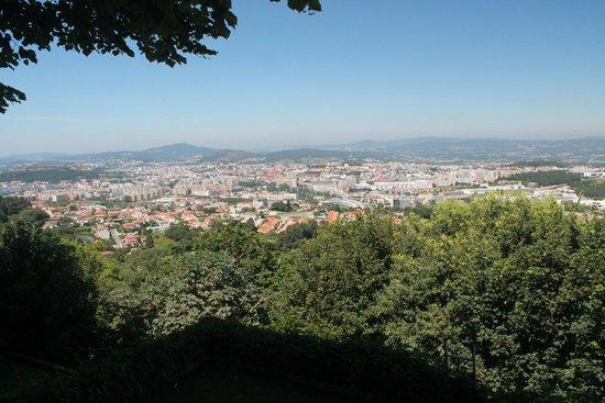 Bom Jesus do Monte: Vista da cidade
