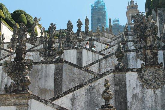 Bom Jesus do Monte: Escadarias