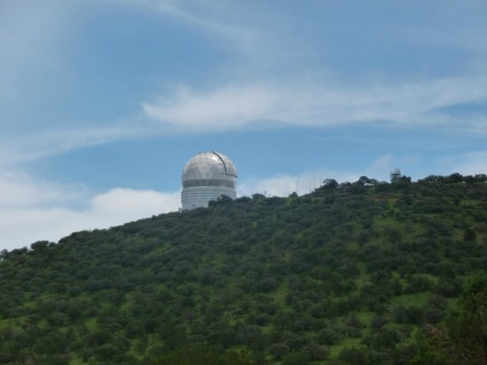 McDonald Observatory: Another view of the telescope.