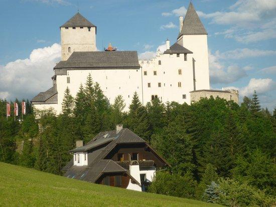 Landhaus und Residenz zur Hackenschmiede: Yes it's that close to the castle !